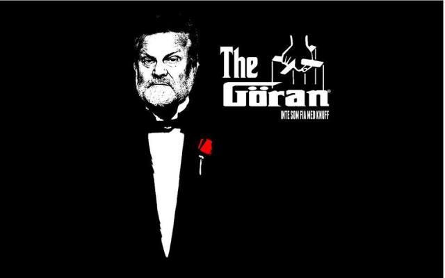 The Göran - Inte som fia med knuff. Source: Göran Frisk Fan Page.