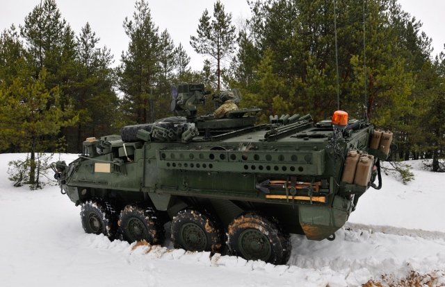 3-2 CAV conducts reconnaissance training in Latvia