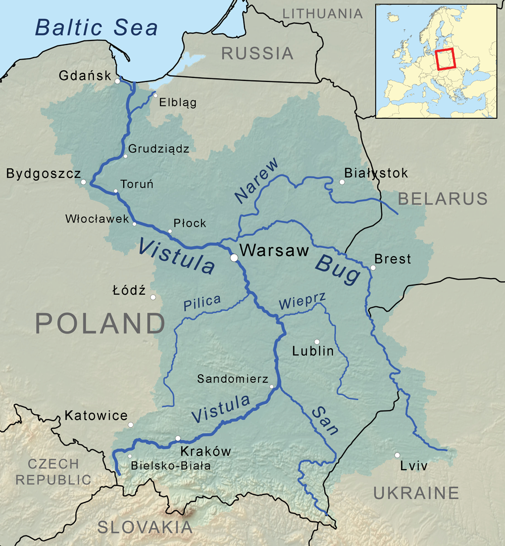 vistula_river_map