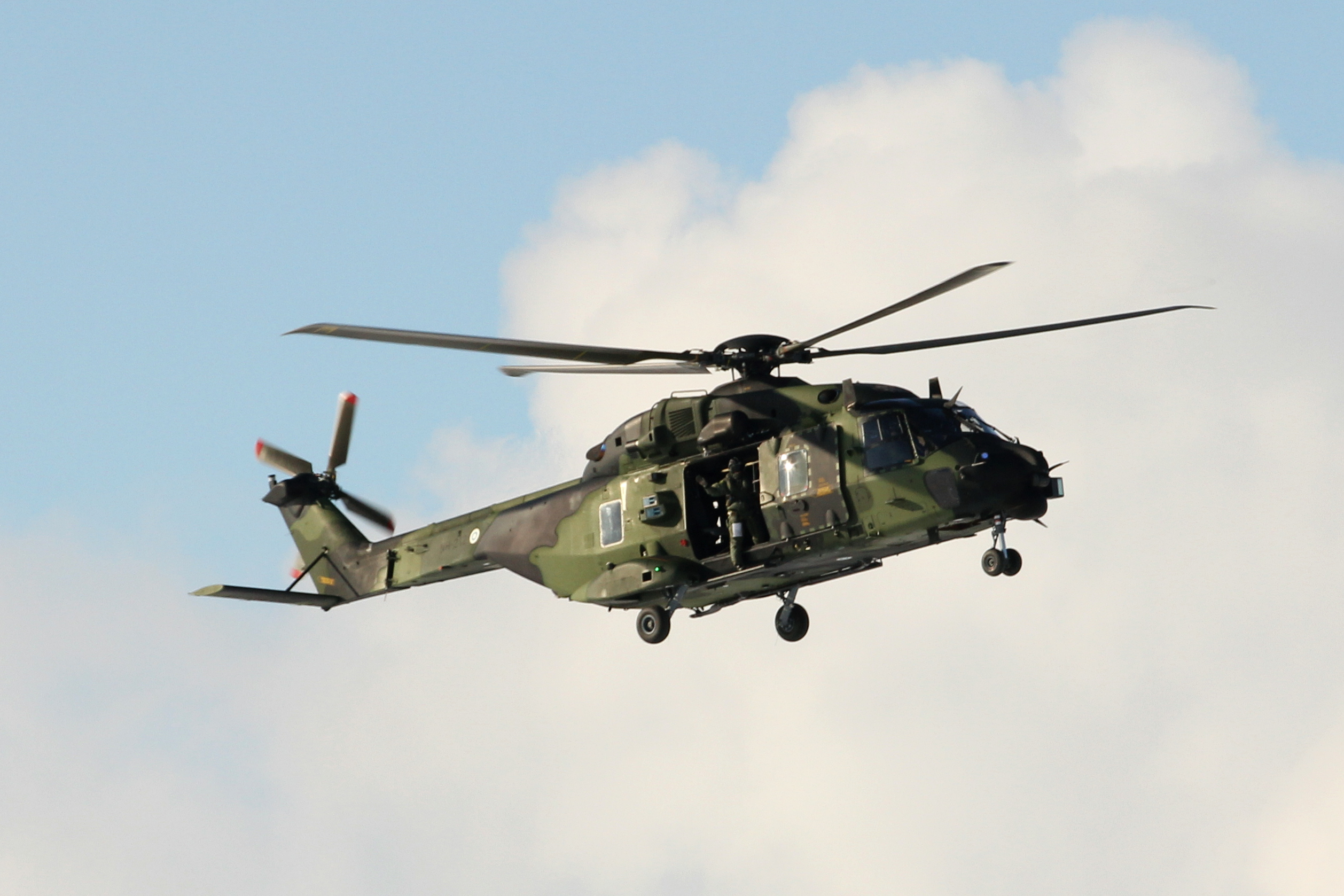 NH 90 on show