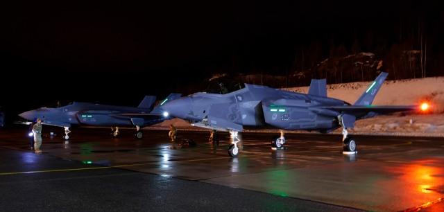 F-35 at Pirkkala FinAF FB Joni Malkamäki